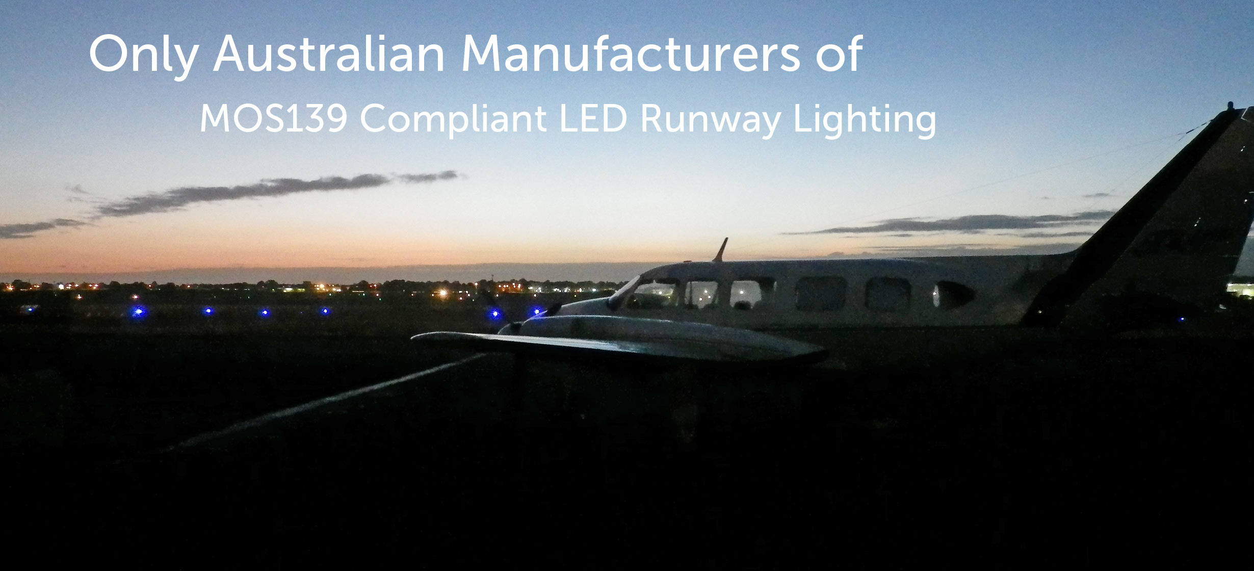 MOS139 Compliant LED Runway Lighting